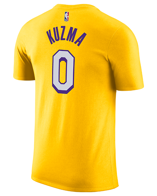 Los Angeles Lakers Youth City Edition Kyle Kuzma Player Tee