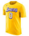 Los Angeles Lakers Youth City Edition Kyle Kuzma Player Tee - Gold