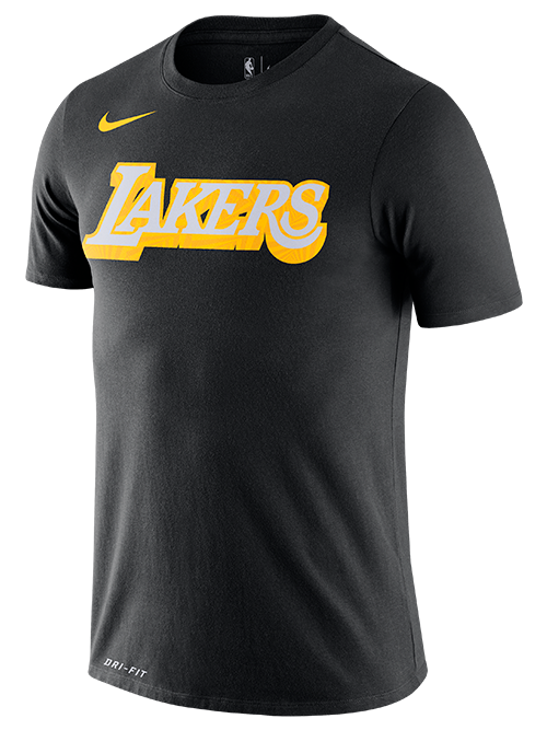 Los Angeles Lakers City Edition Logo Tee - Black
