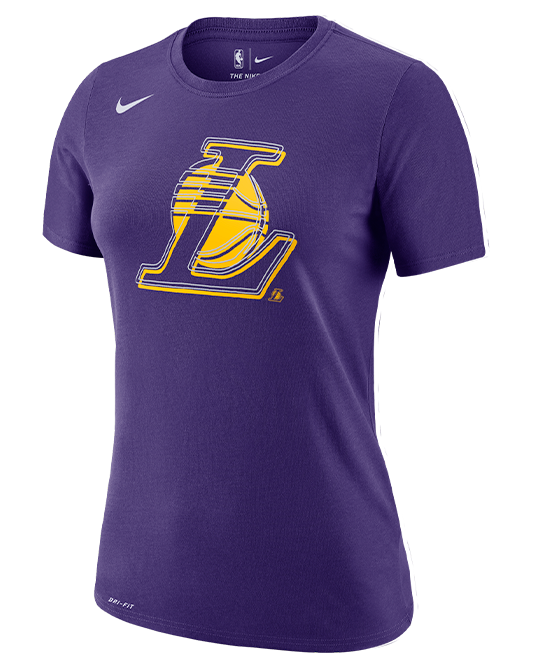 Dri-FIT Logo Womens Los Angeles Lakers Tee