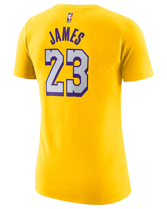 City Edition Player Womens LeBron James Los Angeles Lakers Tee