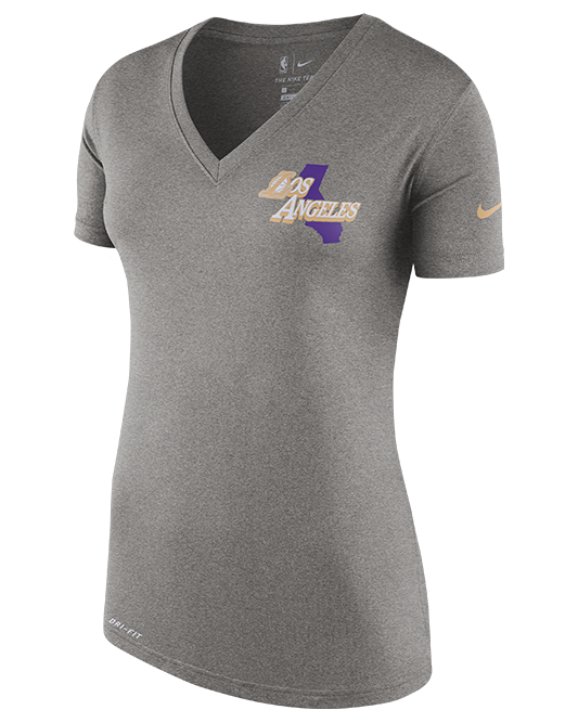 City Edition FNW Dry Womens Los Angeles Lakers Tee