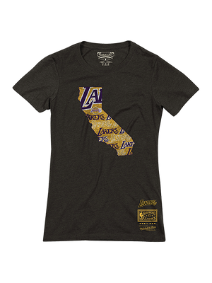 Los Angeles Lakers Women's State Pride T-Shirt