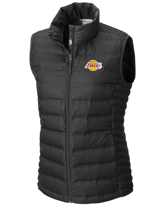 Los Angeles Lakers Women's Lake 22 Vest - Black