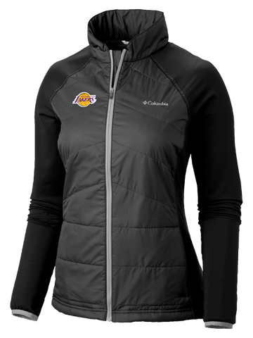 Los Angeles Lakers Women's Logo Full Zip Track Jacket