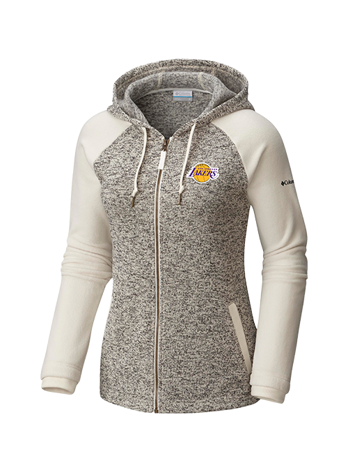 Los Angeles Lakers Women's Darling Days Full Zip Fleece