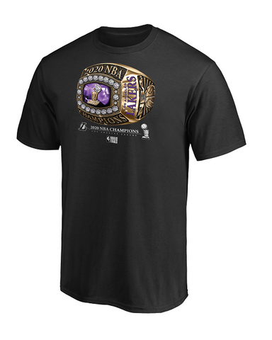 Los Angeles Lakers 2020 NBA Champions Shot Clock T-Shirt