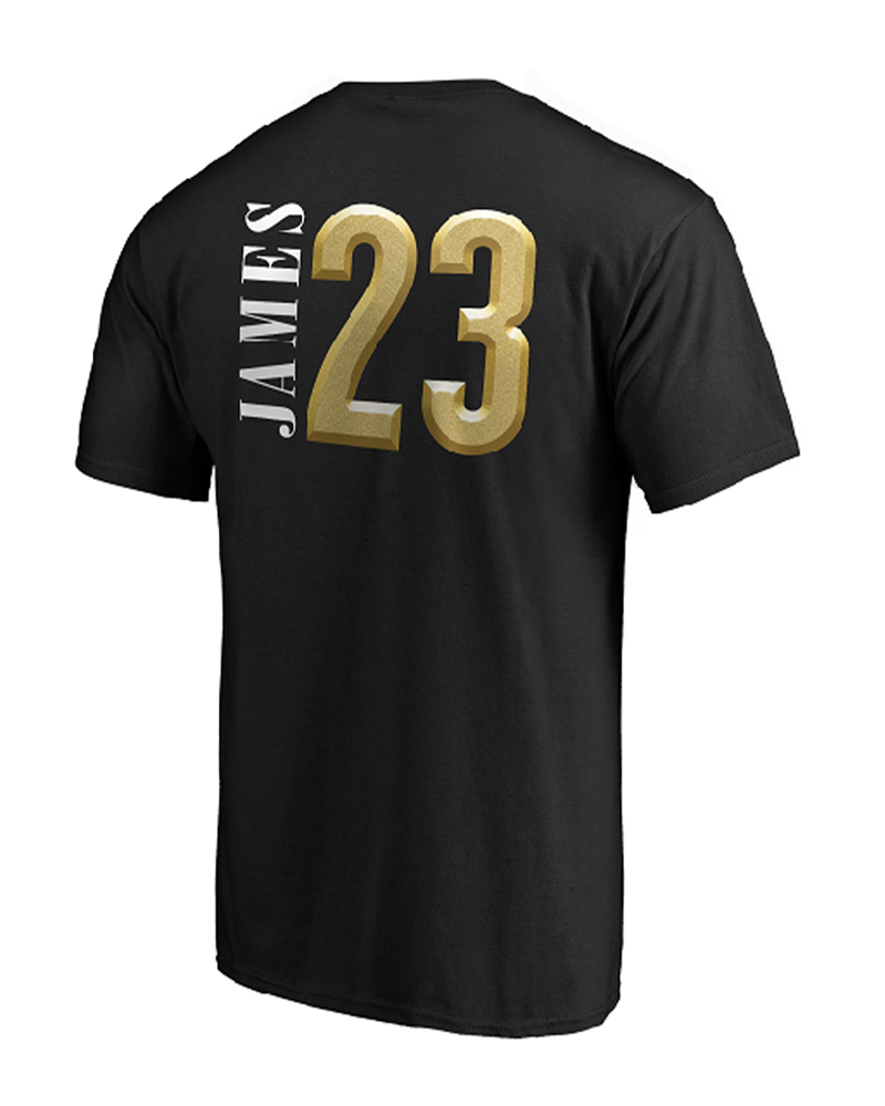 2020 NBA Champions LeBron James Player Los Angeles Lakers Tee