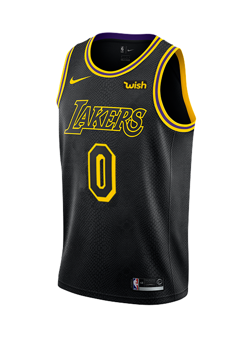 Los Angeles Lakers Kyle Kuzma City Edition Swingman Jersey
