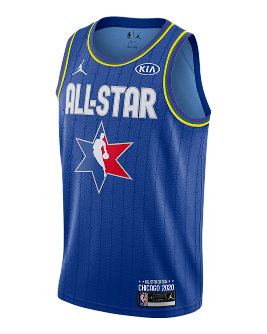 PRE-ORDER NBA All-Star 2020 LeBron James Swingman Jersey - Blue