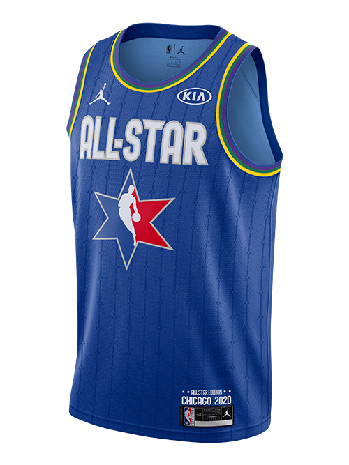 PRE-ORDER NBA All-Star 2020 Anthony Davis Swingman Jersey - Blue