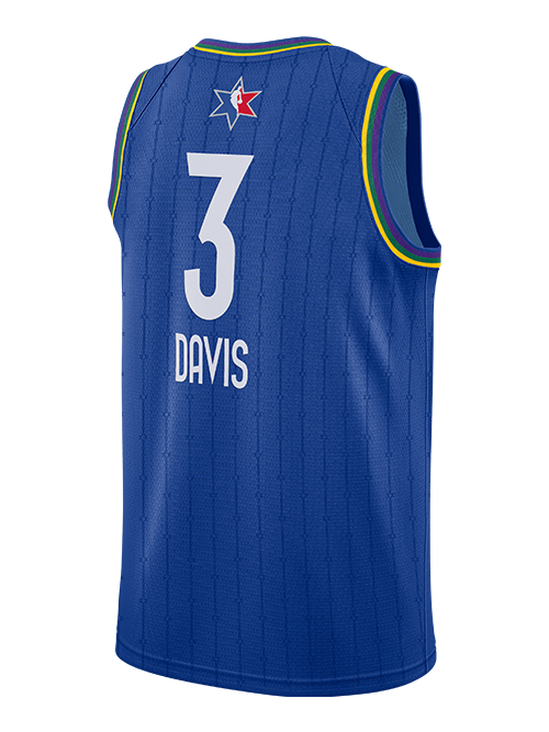 NBA All-Star 2020 Anthony Davis Swingman Jersey - Blue