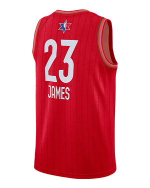 NBA All-Star 2020 LeBron James Swingman Jersey - Red
