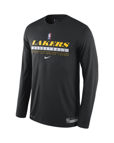 Los Angeles Lakers Gunner Salina Waffle Thermal Long Sleeve