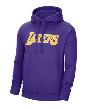Los Angeles Lakers Jordan Brand Statement Pullover Fleece