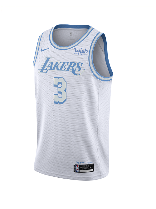 Pre-Order City Edition Swingman Los Angeles Lakers Anthony Davis Jersey