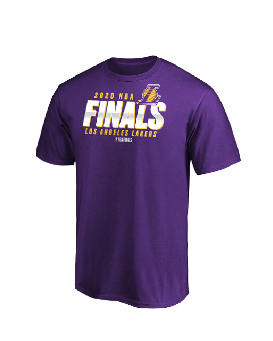 NBA Finals Buzzer Los Angeles Lakers Tee