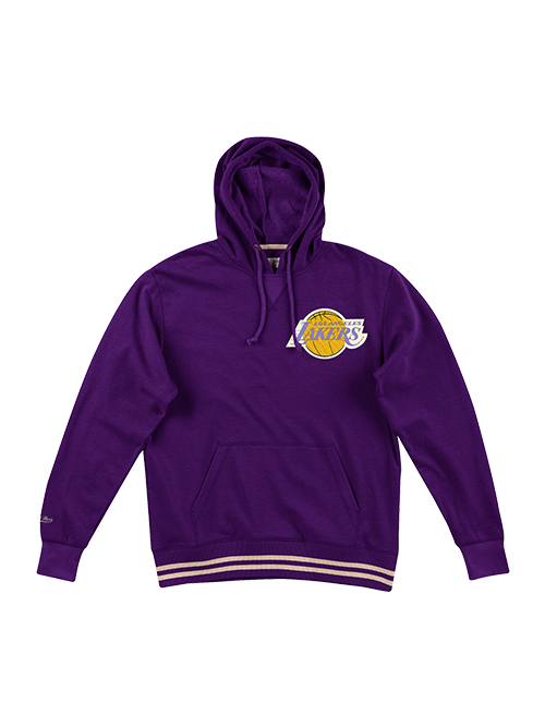 Los Angeles Lakers Bat Around Hoody - Purple