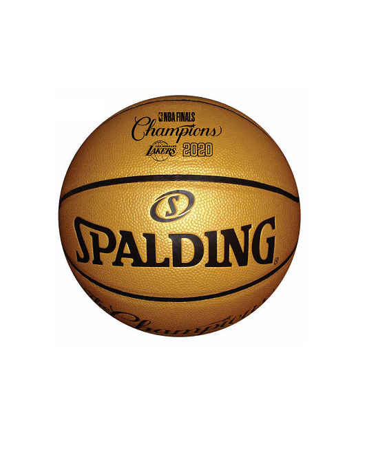 Los Angeles Lakers 2020 NBA Champions Gold B7 Ball
