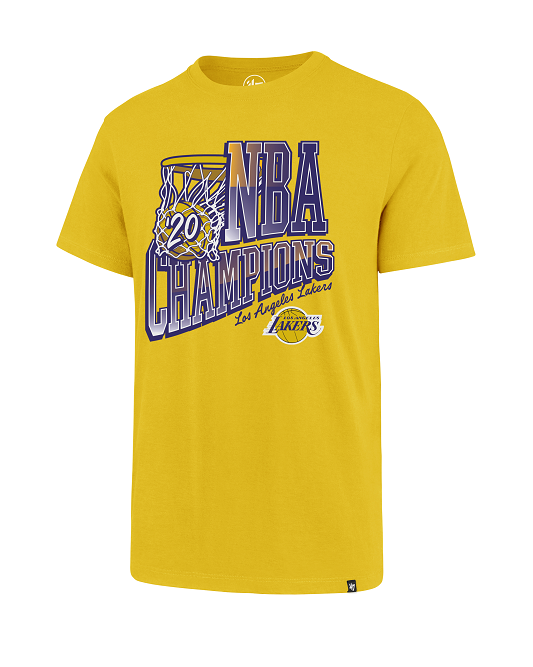 Los Angeles Lakers 2020 NBA Champions Basket T-Shirt