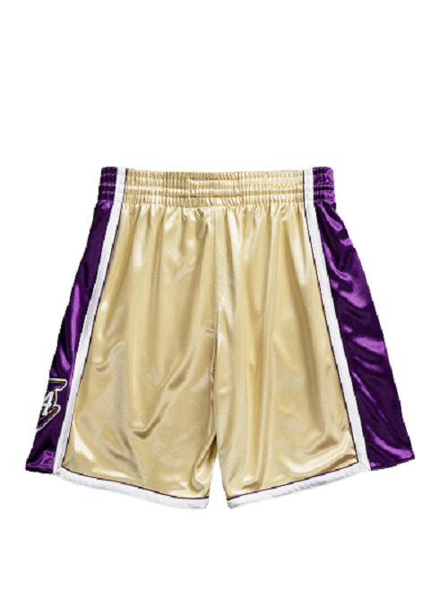 Los Angeles Lakers Kobe Bryant Hall of Fame 1996-97 #24 Authentic Shorts - Gold