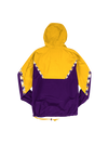 Los Angeles Lakers Half Zip Anorak Jacket - Purple/Gold