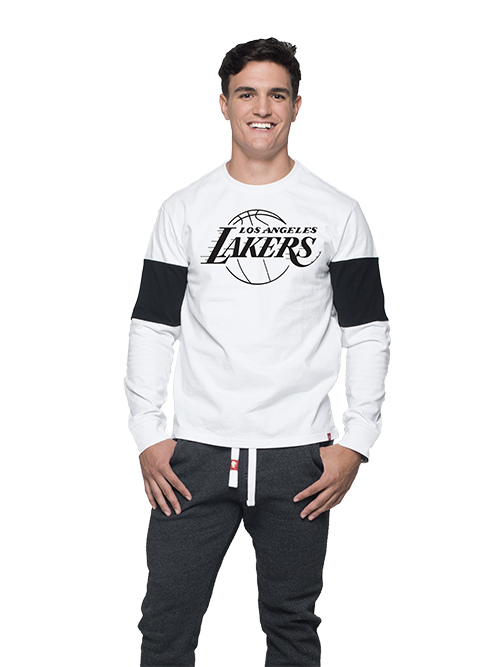 Los Angeles Lakers Logo Thorpe Long Sleeve T-Shirt