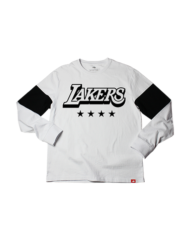 Los Angeles Lakers City Edition Men's Logo Comfy Short Sleeve Tee - Black