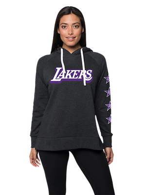 Los Angeles Lakers City Edition Women's Logo Kylie Hoody - Black