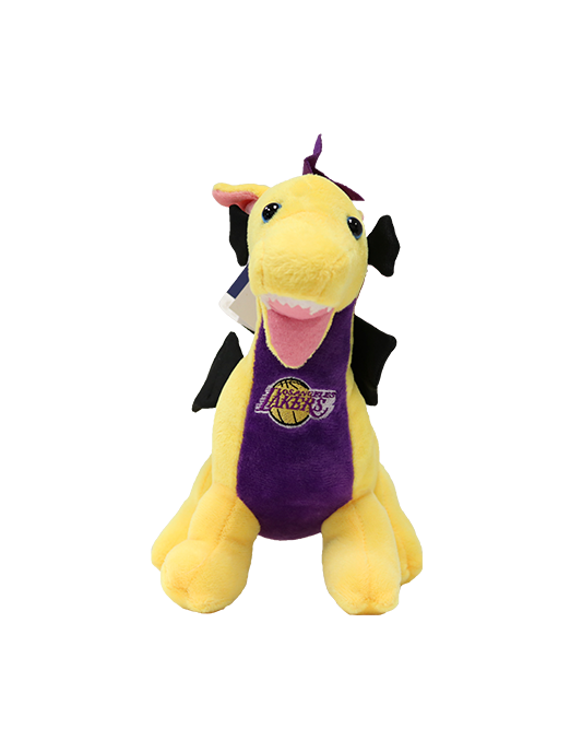 "Los Angeles Lakers 8"" Dragon Plush"