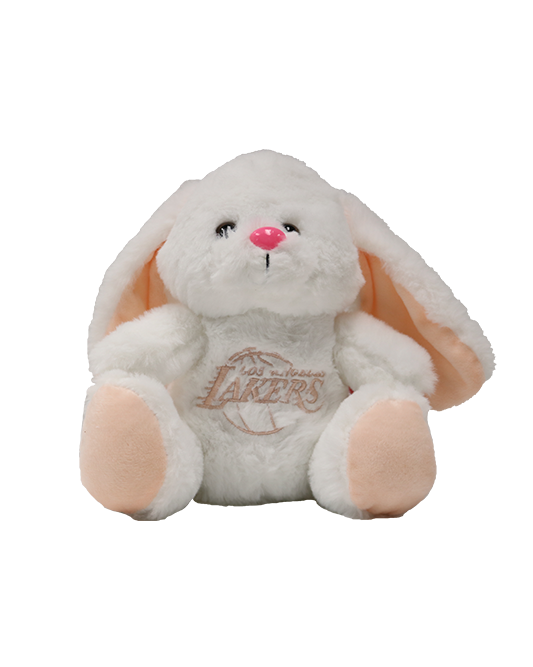 White Bunny Los Angeles Lakers Plush