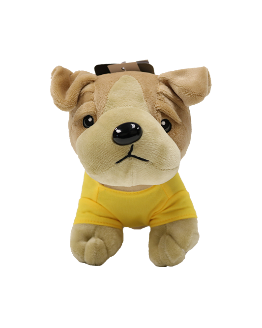 "Los Angeles Lakers 8"" Bulldog Plush"
