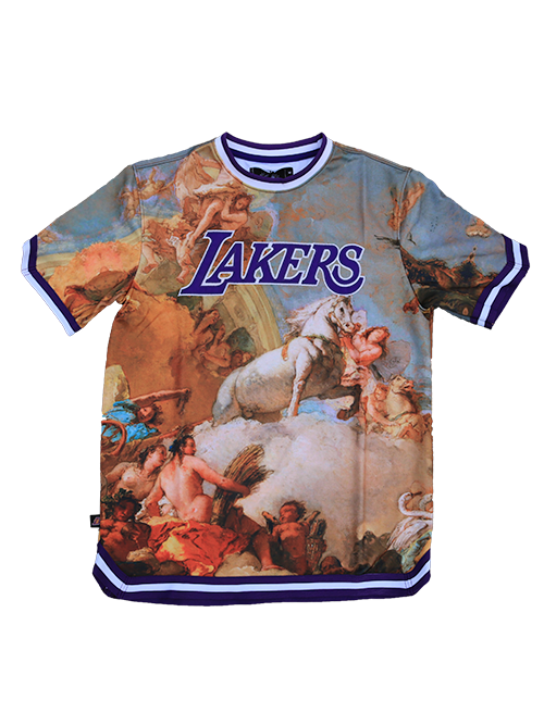 Los Angeles Lakers Fine Art Short Sleeve Jersey