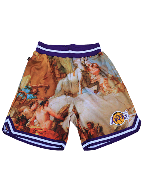 Los Angeles Lakers Fine Art Shorts