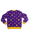 Los Angeles Lakers Ugly Knit Sweater - Purple