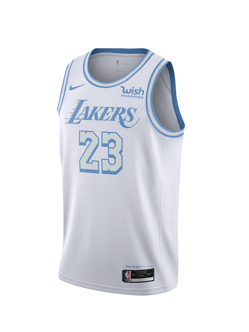 Pre-Order City Edition Swingman Los Angeles Lakers LeBron James Jersey