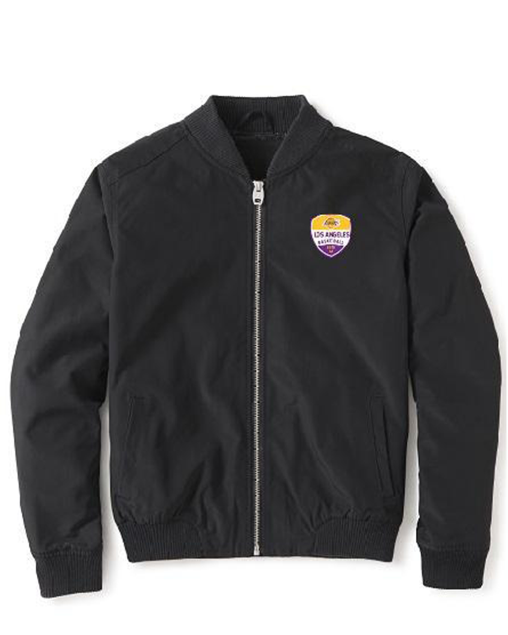 Los Angeles Lakers Women's Ace Full Zip Bomber Jacket