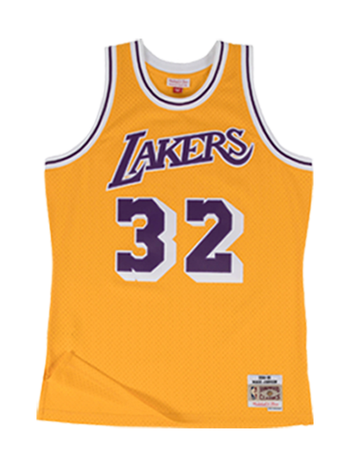 Los Angeles Lakers Johnson 84 Swingman Jersey - Gold