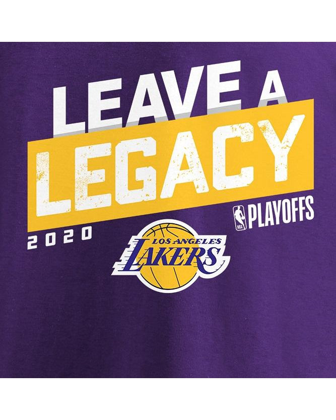 Leave A Legacy Adult Los Angeles Lakers Tee