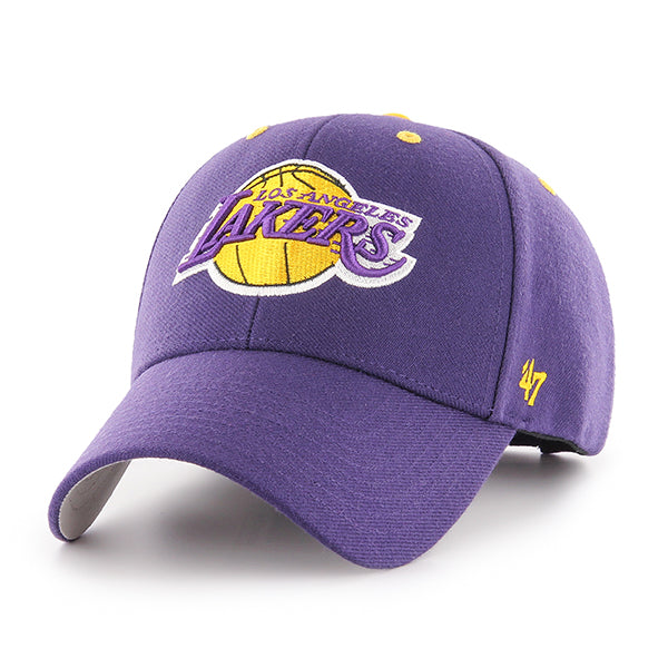Los Angeles Lakers Purple Logo Velcro Cap