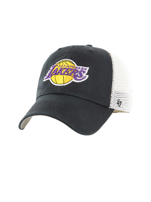 Los Angeles Lakers Youth Blue Hill Closer Fitted Cap