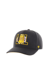 Los Angeles Lakers 9TWENTY Authentics Training Series Adjustable Cap - Grey