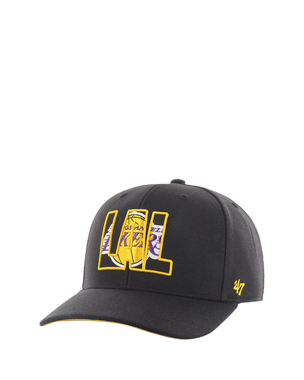 Los Angeles Lakers Crop Shadow MVP Cap