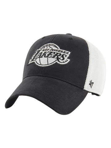 Los Angeles Lakers Primary Raised Knit Hat