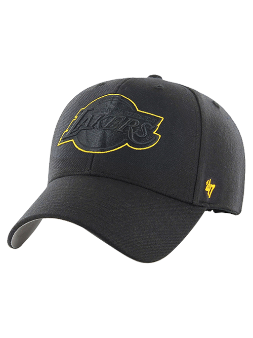 Los Angeles Lakers Gold Outline MVP Adjustable Cap