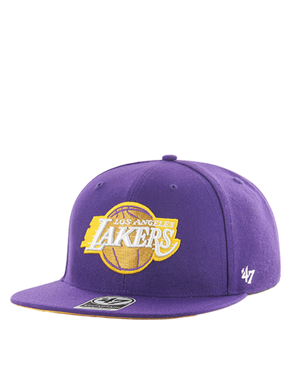 Los Angeles Lakers City Edition Captain Snapback Cap - Purple