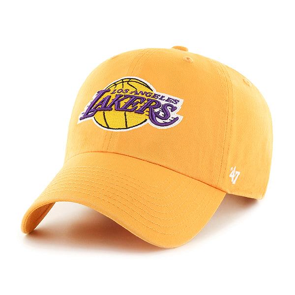 Los Angeles Lakers Secondary Clean Up Adjustable Cap
