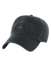 Los Angeles Lakers Black on Black Clean Up Adjustable Cap