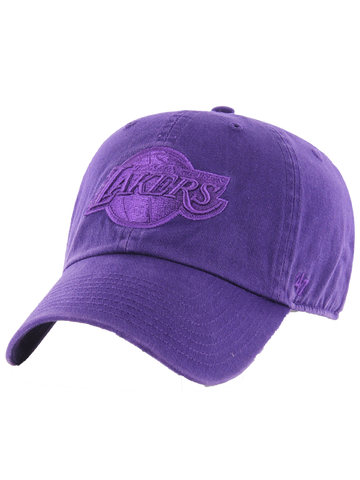 Los Angeles Lakers Women's 9TWENTY Suede Trucker Adjustable Cap