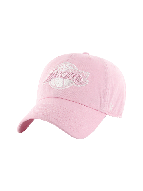 Los Angeles Lakers Light Pink Clean Up Adjustable Cap